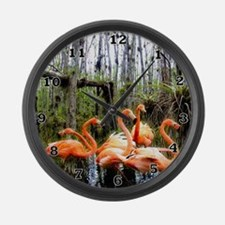 Big Cyprus National Preserve Large Wall Clock