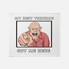 My Best Thinking ~3000X3000 Throw Blanket