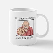 My Best Thinking ~3000X3000 Small Small Mug
