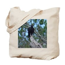 black vulture Tote Bag