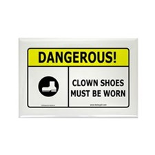 Clown Shoes Rectangle Magnet
