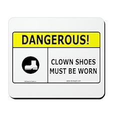 Clown Shoes Mousepad