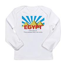 Egypt Peaked Early Long Sleeve T-Shirt
