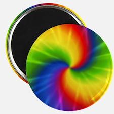 Retro Tie Dye Magnet