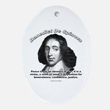 Benedict De Spinoza 01 Oval Ornament
