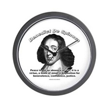 Benedict De Spinoza 01 Wall Clock