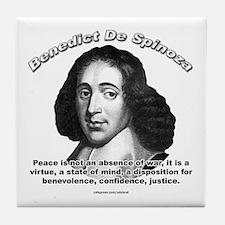 Benedict De Spinoza 01 Tile Coaster