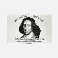 Benedict De Spinoza 01 Rectangle Magnet