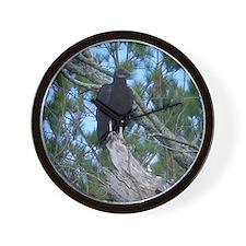 black vulture Wall Clock
