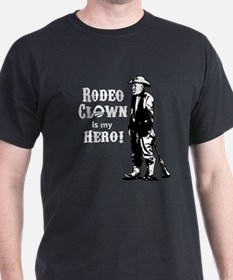 Rodeo Clown Hero T-Shirt