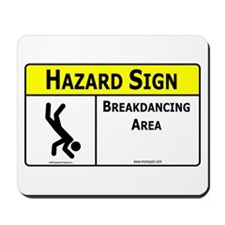 Breakdancing Area Mousepad