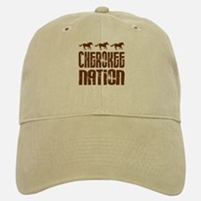 Cherokee Nation With Running Horses Baseball Baseball Baseball Cap