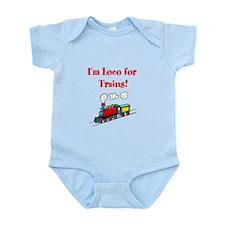 Loco for Trains-R- Infant Bodysuit
