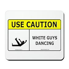 White Guys Dancing Mousepad