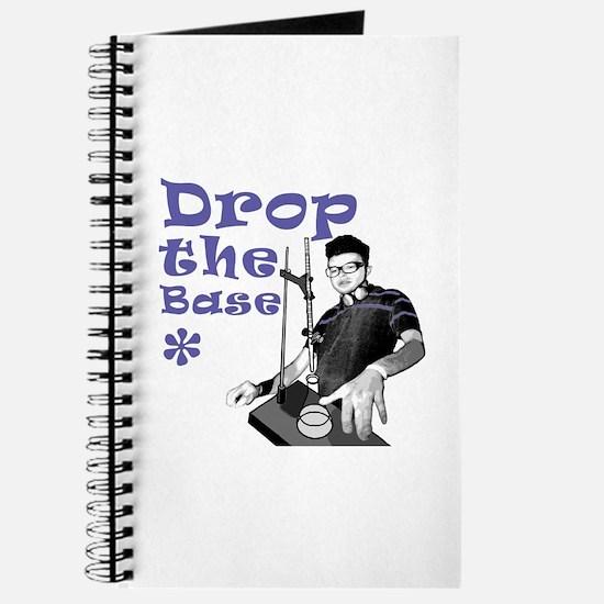 Drop The Base Violet Journal