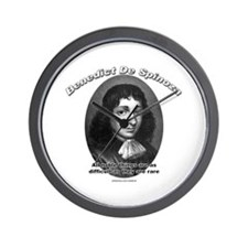 Benedict De Spinoza 02 Wall Clock