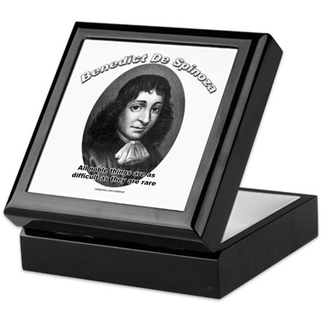 Benedict De Spinoza 02 Keepsake Box