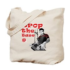 Drop The Base Red Tote Bag