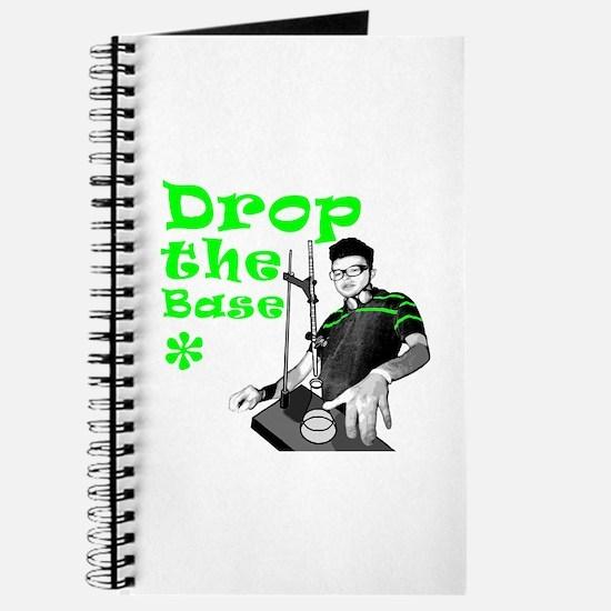 Drop The Base Green Journal