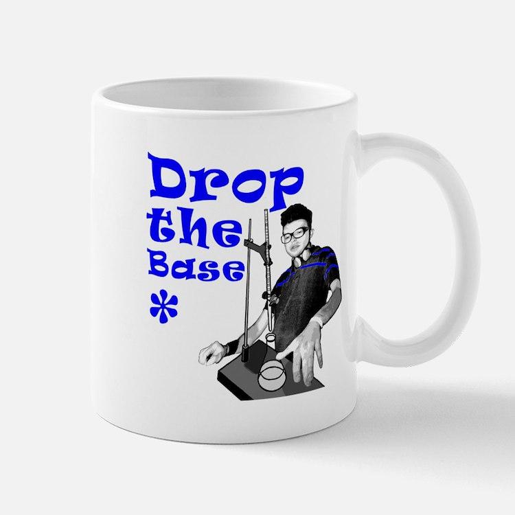 Drop The Base Blue Mug