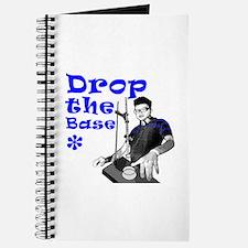 Drop The Base Blue Journal