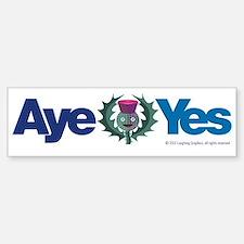 Aye Bumper Bumper Sticker