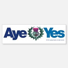 Aye Sticker (Bumper)