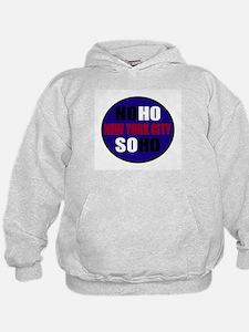 BLUE: Noho Soho Logo Shirts & Hoodie