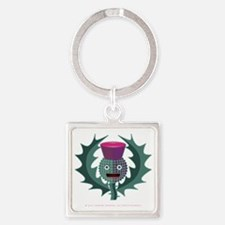Wee Willie Square Keychain