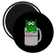 """Coffeethulhu 2.25"""" Magnet (10 pack)"""