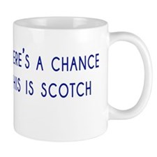 Theres a chance this is scotch Mug