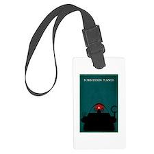 Forbidden Planet Minimal Poster Design Luggage Tag