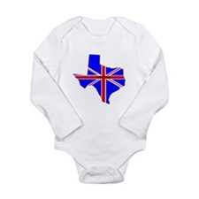 British Texan Infant Creeper Body Suit