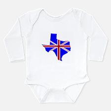 British Texan Infant Creeper Body Suit
