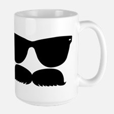 Sunglasses Mustache Mug