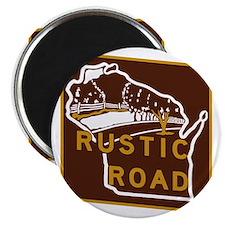 Wisconsin Rustic Road Magnet