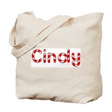 Cindy - Candy Cane Tote Bag