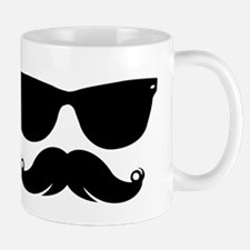 Sunglasses Mustache Small Mug