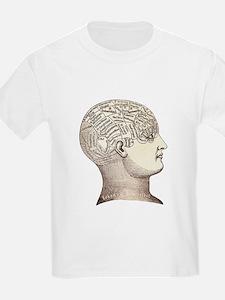 Victorian Phrenology Kids T-Shirt