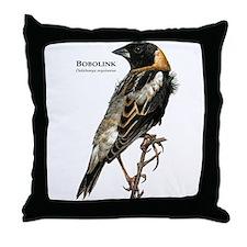 Bobolink Throw Pillow