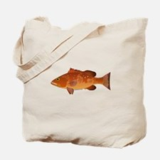 Red Grouper f Tote Bag