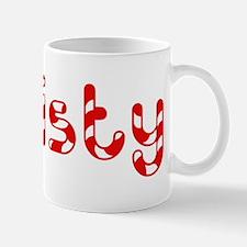 Christy - Candy Cane Mug
