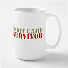 """Boot Camp Survivor"" Mugs"