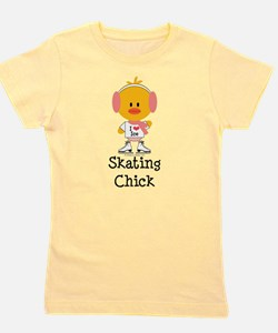 Ice Skating Chick T-Shirt