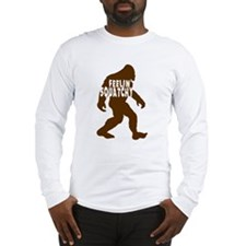 Feelin' Squatchy (dark) Long Sleeve T-Shirt