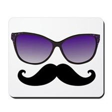 Sunglasses Mustache Mousepad