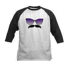 Sunglasses Mustache Baseball Jersey