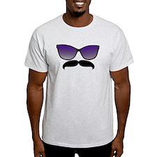 Sunglasses Mustache T-Shirt