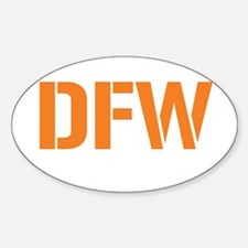 AIRCODE DFW Oval Decal