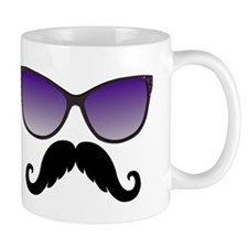 Sunglasses Mustache Small Mug